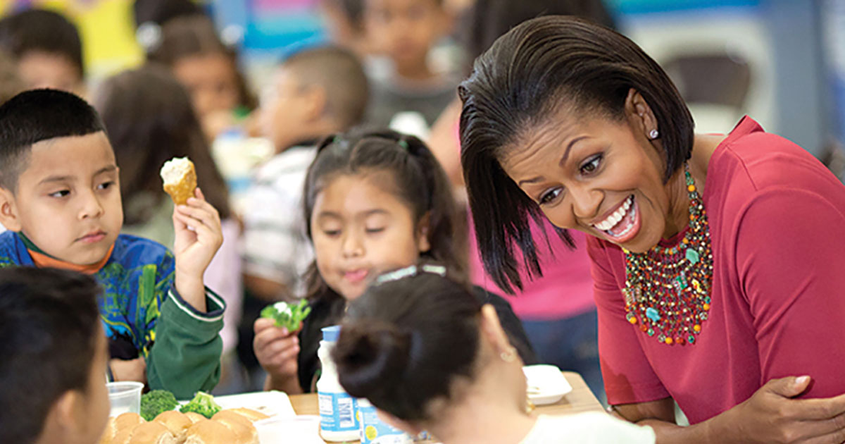 Michelle Obama Fighting Childhood Obesity On The Home Front Future Of Personal Health
