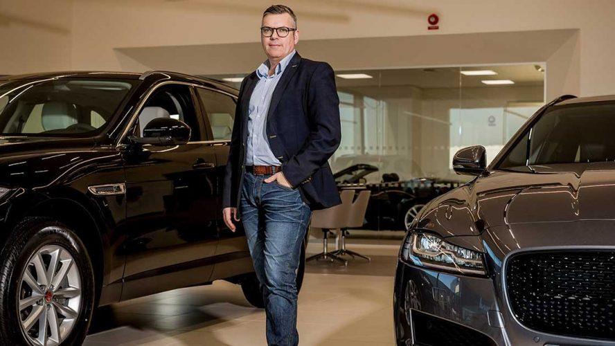 Søren Hyltoft, Press & PR manager, Jaguar Land Rover Scandinavia