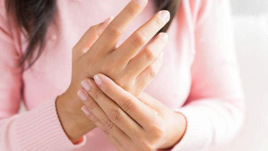 Nursing a sore hand