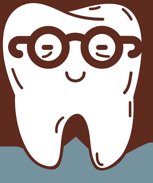 Elder tooth illustration
