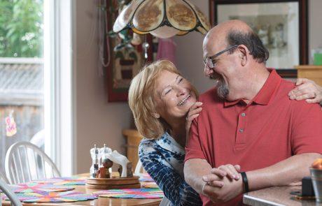 Dan Collins and Nancy Vinet