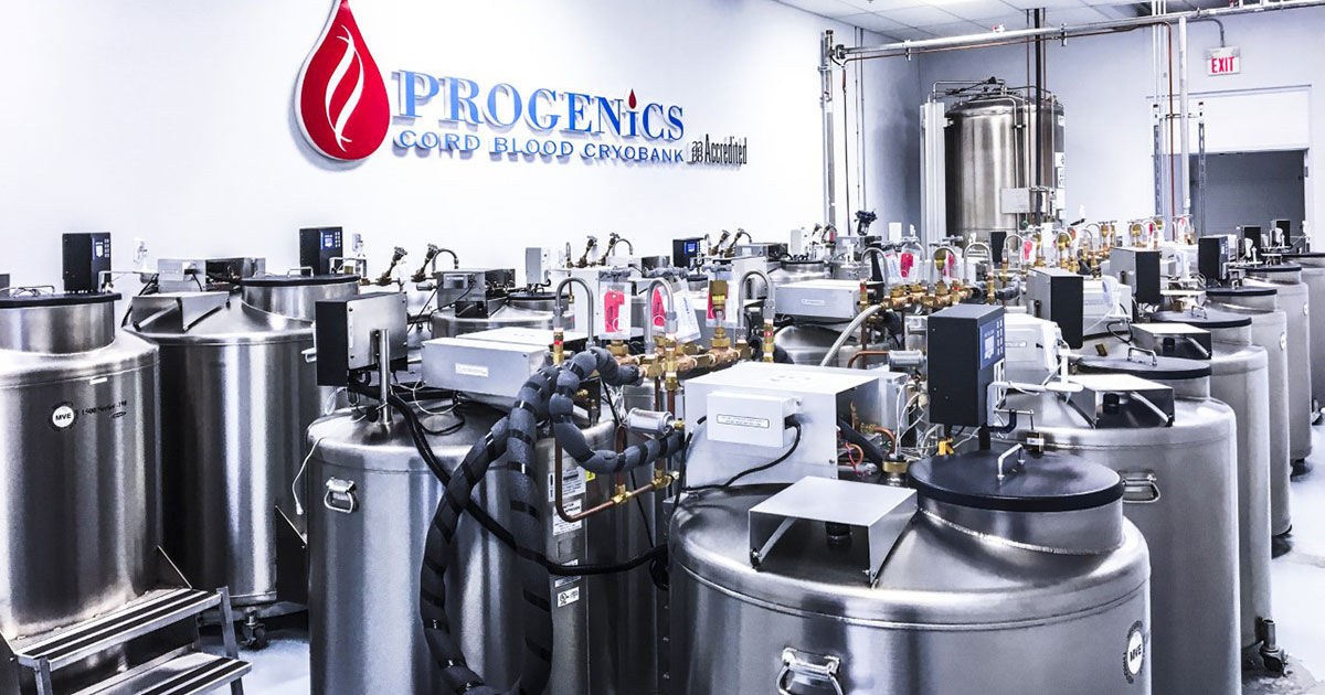 Progenics Cord Blood Cryobank