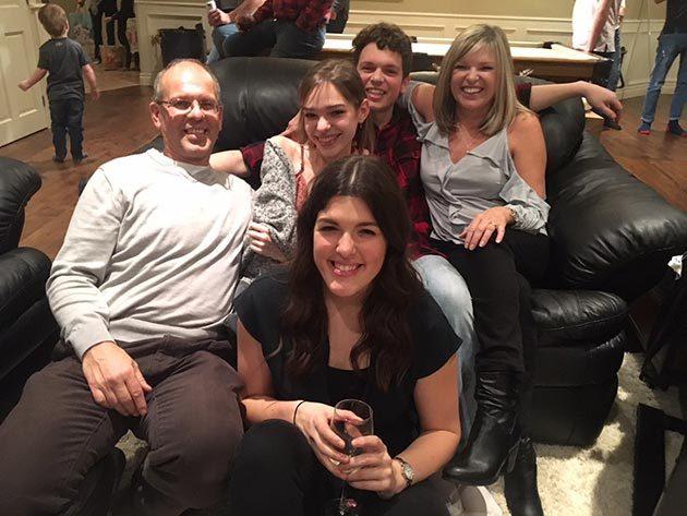 Rebecca Van Fraassen and her family