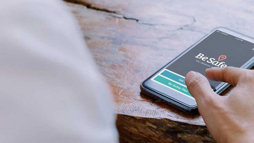 ConnexOntario Be Safe app
