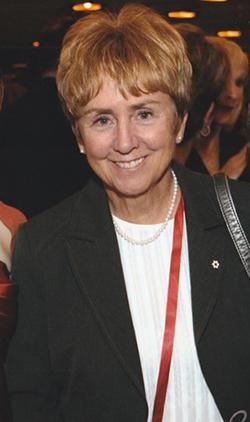 Nancy Greene Raine at a public event