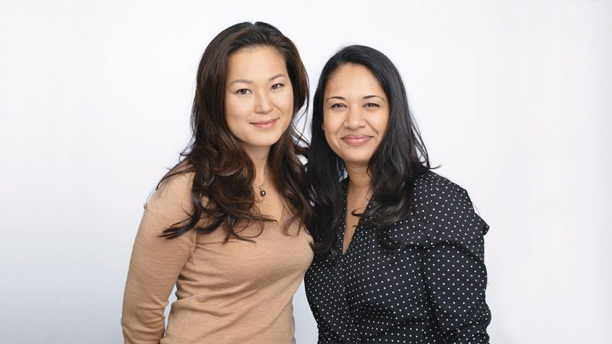 Ellice Yang and Jasmine Sufi