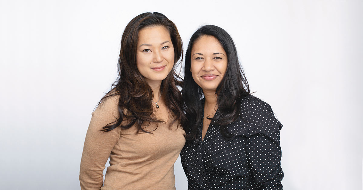 Ellice Yang and Jasmine Sufi
