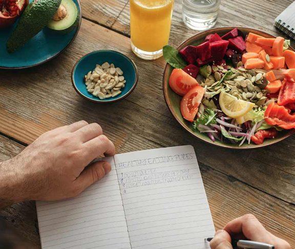 Healthy eating header