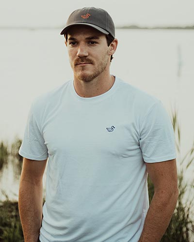 Andrew Shaw in Ducky Brand Apparel