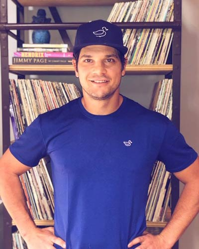 Daniel Carcillo in Ducky Brand Apparel