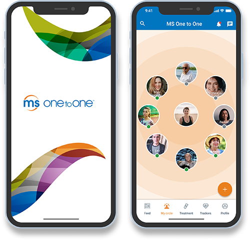 MS One to One Canada Patient Community app