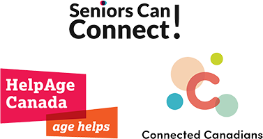 Seniors Can Connect logo