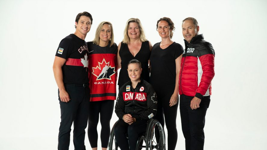 Canadian professional athletes in support of Parachute