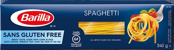 Box of Barilla Gluten-Free Spaghetti