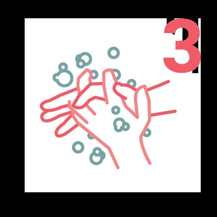 IPAC Hand Washing icons 3