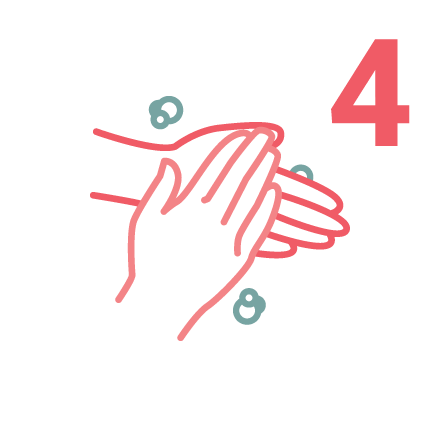 IPAC Hand Washing icons 4