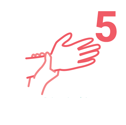 IPAC Hand Washing icons 5