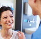 Patient Smiling at Doctor