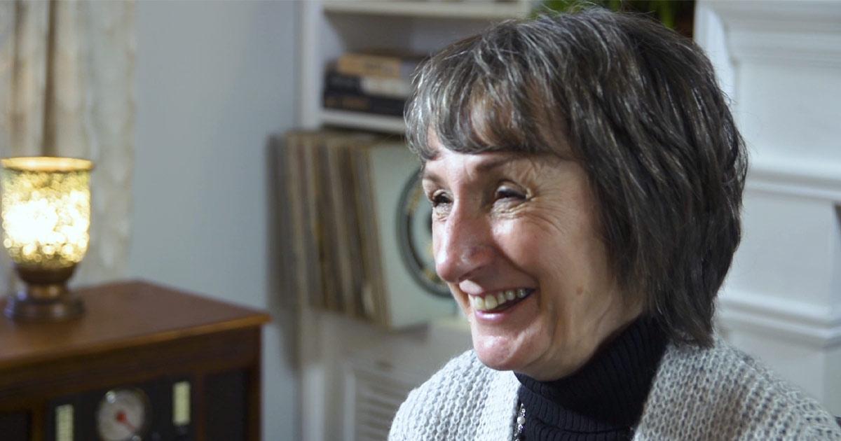 Julie Martin smiling