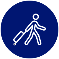 Icon of person carrying luggage