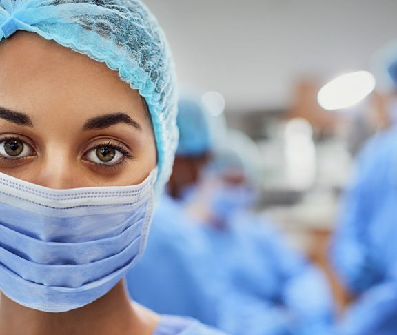 Doctor in scrub