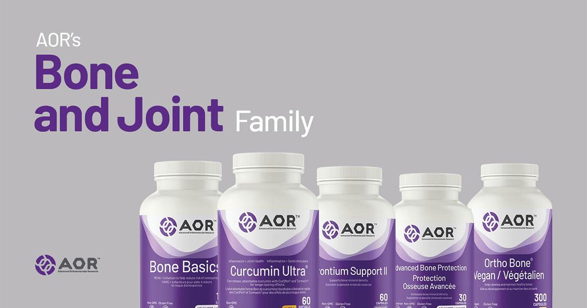 aor bone joint family arthritic supplement