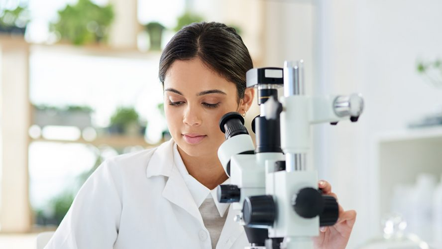 young scientist microscope spinal muscular atrophy