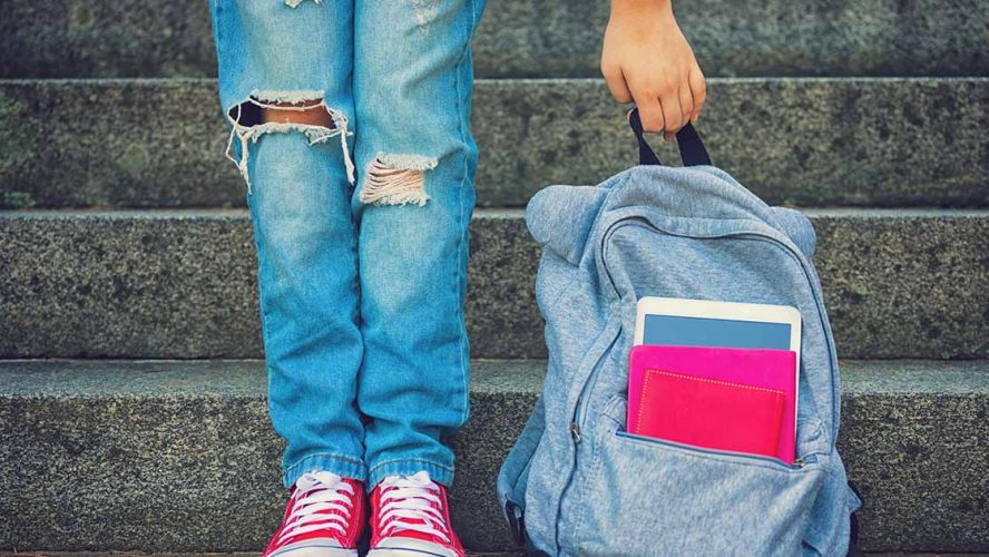 back to school backpack childhood disability