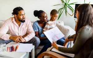 black family autism spectrum disorder