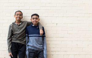 boy stem cell donor aml