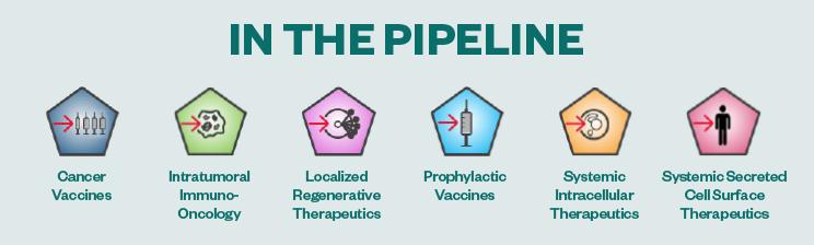 moderna pipeline infographic