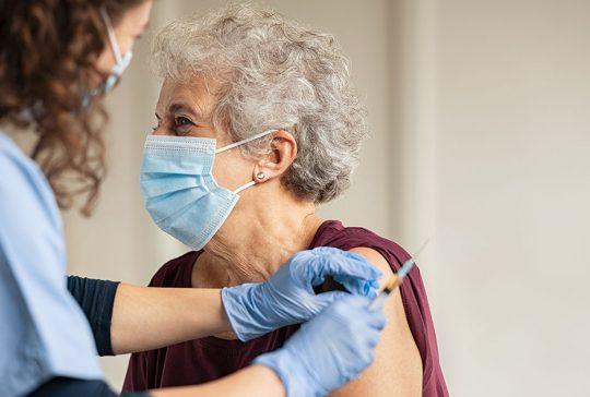 old lady vaccines 411 shingles