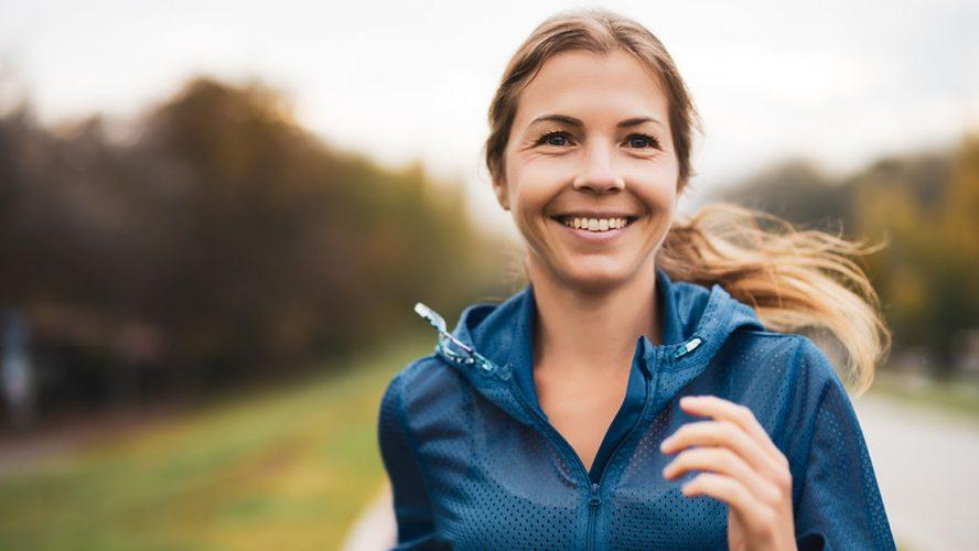 woman jogging better sleep council