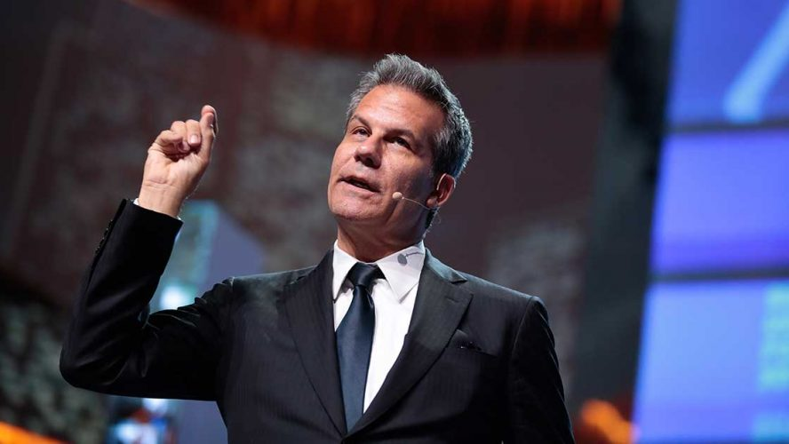 Richard Florida speaking at an event