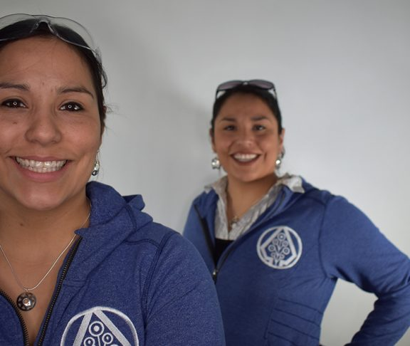 Dakota and Jesse Brant are twin sisters who founded Sapling & Flint