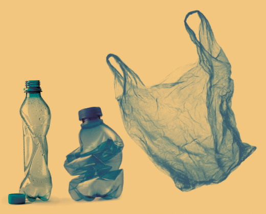 Single-use plastics