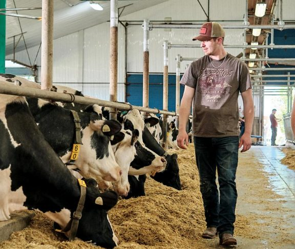 Dairy farmers are key