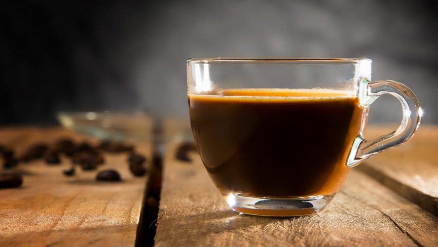 A delicious mug of coffee