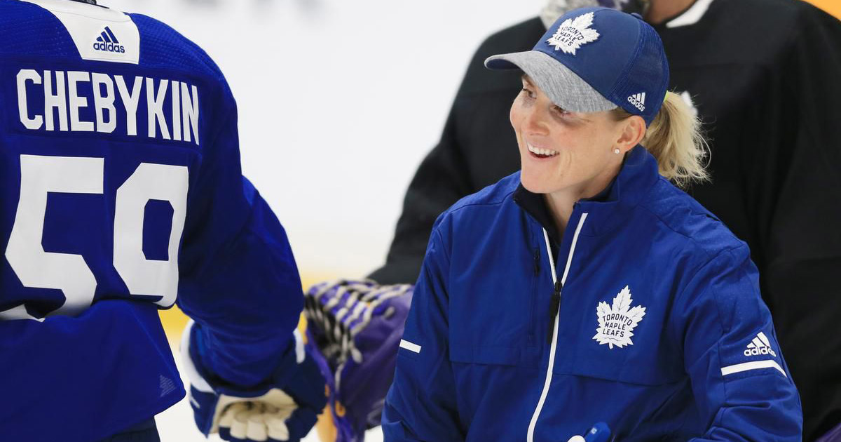 Hayley Wickenheiser Toronto Maple Leafs