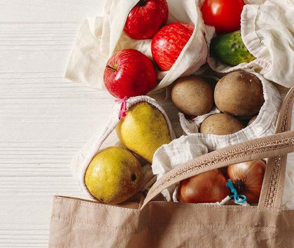 Reusable grocery bag