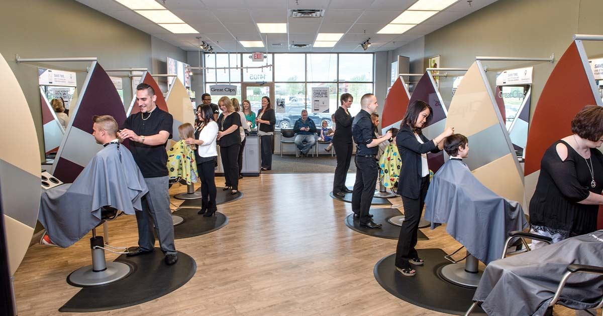 Great Clips salon in Minneapolis