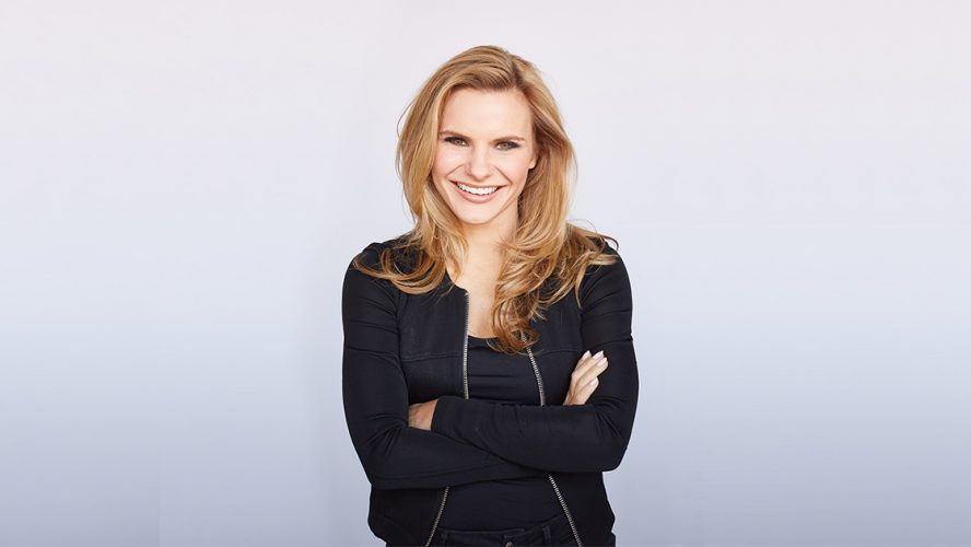 Michele Romanow crossing her arms