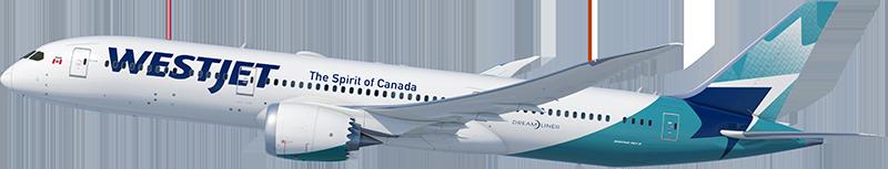 WestJet Livery Boeing 787-9