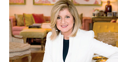 Featured image Ariana Huffington