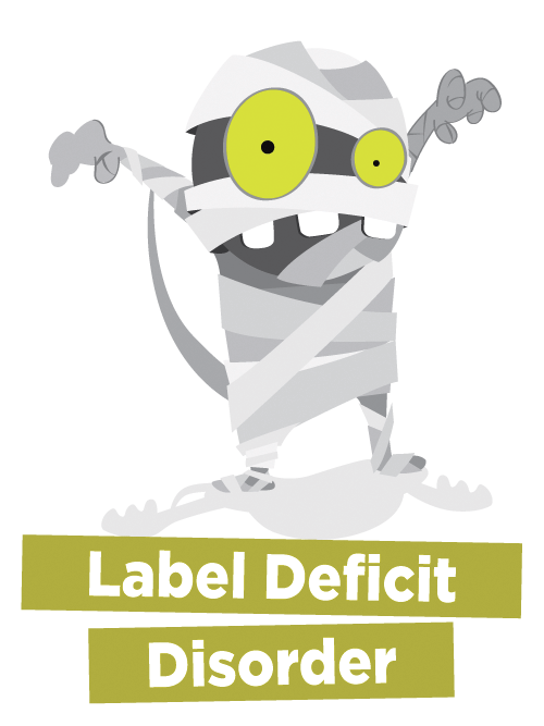 Label Deficit Disorder