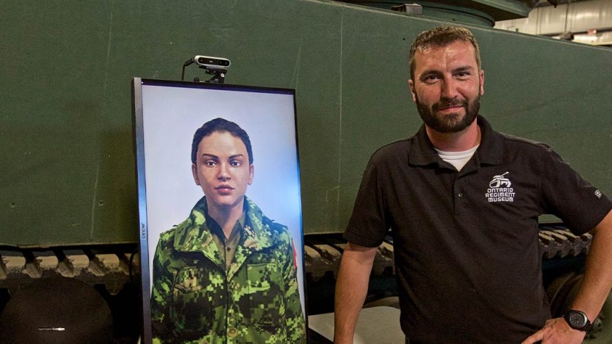 Jeremy Neil Blowers and Master Corporal Lana