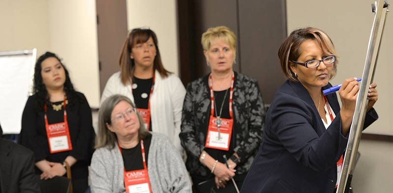 Women at a Diversity Procurement Fair 2019 workshop