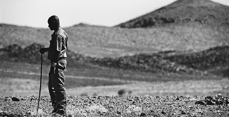 Community ranger in Namibia