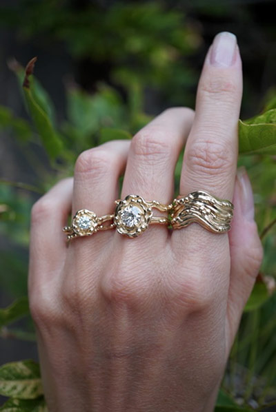 BaYou With Love rings by Nikki Reed