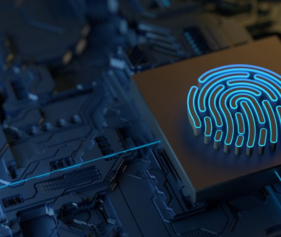Digital fingerprint on electronics